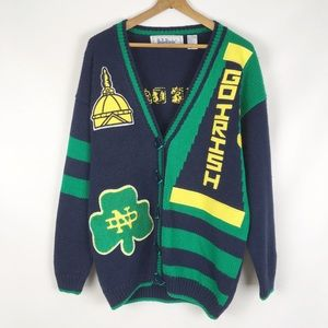 NOTRE DAME | vintage cardigan sweater 0772